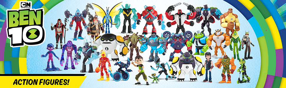 Ben 10 Slapback Action Figure Collectible Toy Figures for Kids Boys Games
