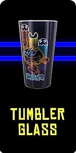 Pac-Man Glas