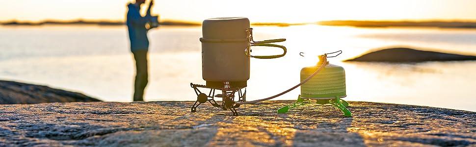 KATADYN Optimus - Mampara paraviento para hornillo de Camping