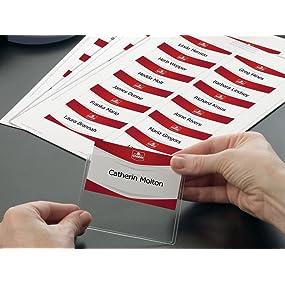 badges, porte-badges, identification, inserts, inserts imprimables, inserts pour badges, bristols po