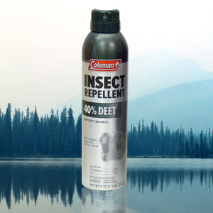 Coleman 40% Deet Insect Repellent Spray - 6 oz Can