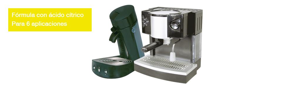 descalcificador maquina cafe