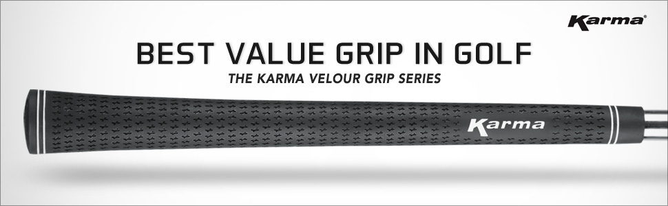 Karma Velour 13 Piece Grip Kits