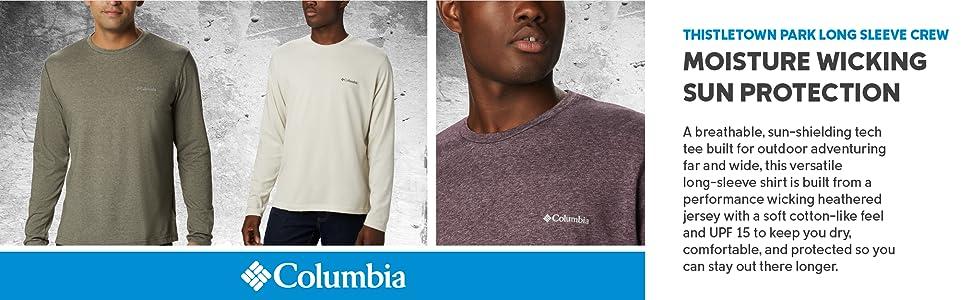 Columbia Men's Thistletown Park Long Sleeve Crew Shirt
