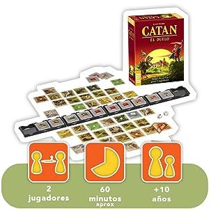 Devir Iberia 227239 Catan el Duelo, Multicolor: Amazon.es: Juguetes y juegos