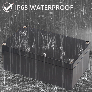 IP68 tipo Y 3 v/ías impermeable cable conector M25 presi/ón de Cable 9mm-12mm|Color Negro CTRICALVER 2pcs de Cajas de Empalmes Impermeables Cajas