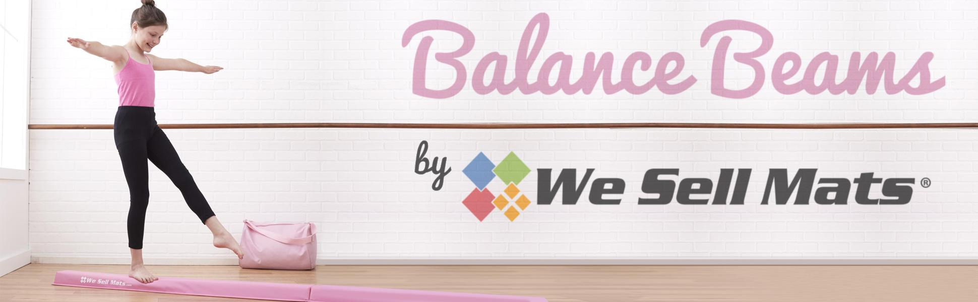 from the balance beam