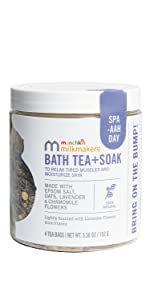 bath tea and soak
