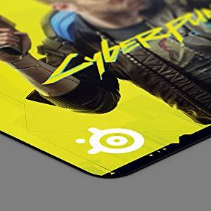 SteelSeries QcK Large Neon Rider Edition Gaming Mousepad