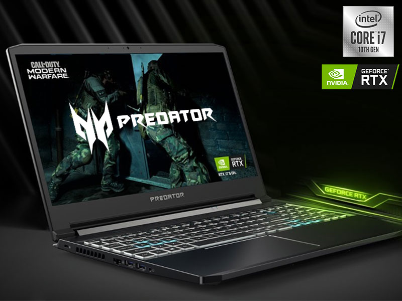 Predator Gaming 10th Gen i7 NVIDIA RTX PC Acer Amazon Choice ROG MSI ASUS DELL