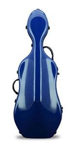 Fiberglass cello case UltraLight 4//4 M-case Navy Blue