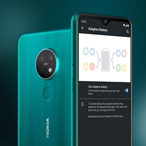 Nokia 7.2 battery