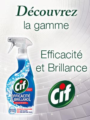 68607d3da0353 Cif Pistolet Spray Nettoyant Efficacité   Brillance Javel (Lot de ...