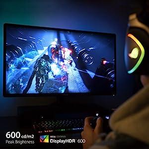 Asus Cg32uq 81 3 Cm Gaming Monitor Schwarz Computer Zubehör