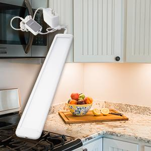 Experience the Convenience of Smart Lighting with SYLVANIA Smart+ & SYLVANIA LIGHTIFY ZigBee Adjustable White Edge-Lit Under Cabinet ...