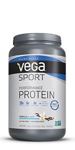 vega sport protein, plant based protein powder
