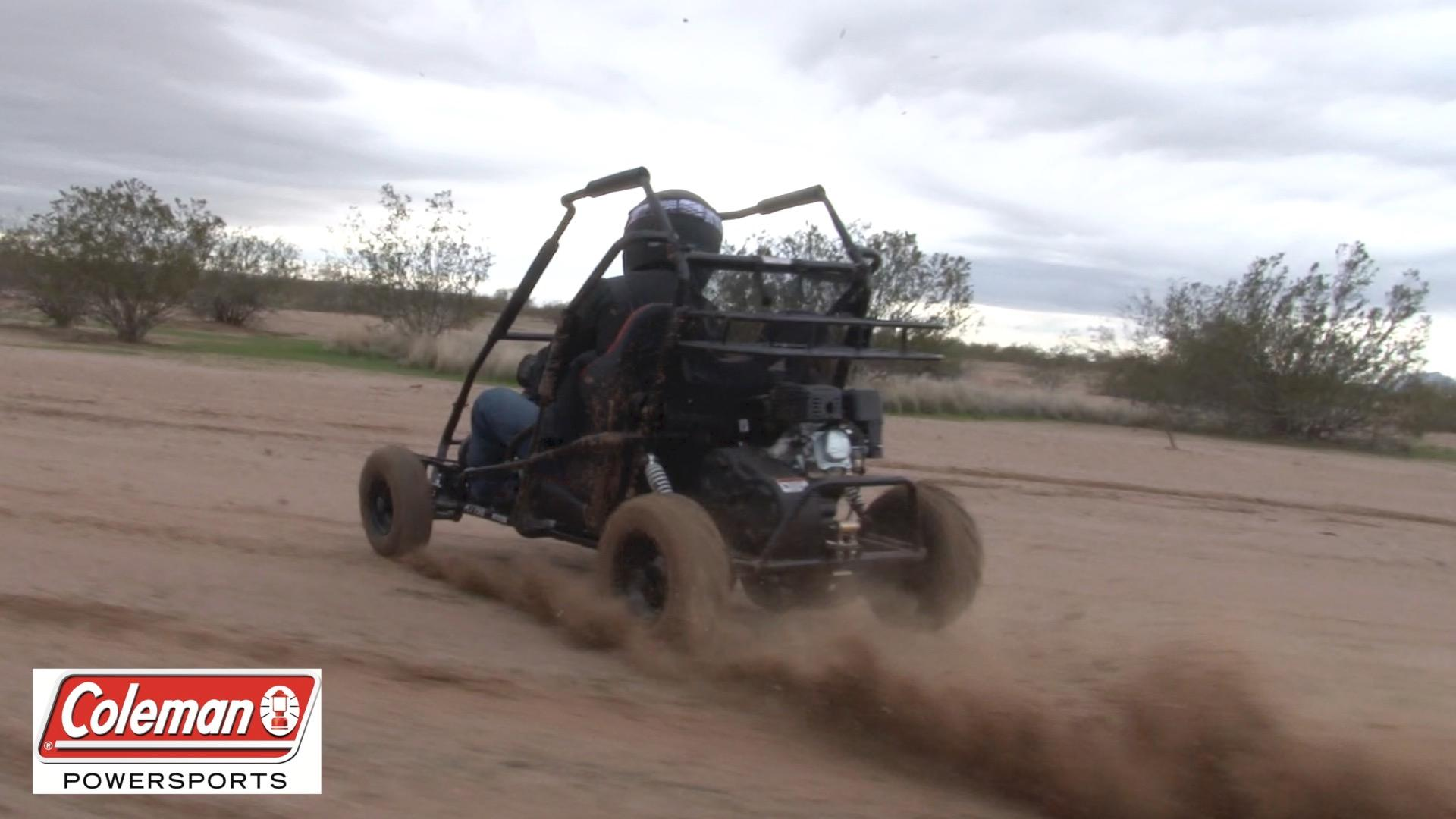 Powered Off Road Go Kart Coleman Powersports Kt196 Gas 2