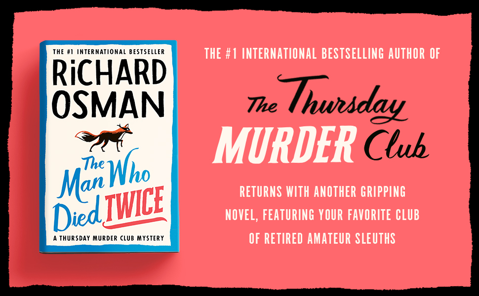 From the Bestselling Author of The Thursday Murder Club returns with another gripping novel.