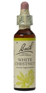 Bach original flower remedies white chestnut 20ml packaging may grouping mightylinksfo Image collections