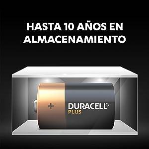 Gracias a la tecnología Duralock, las pilas Duracell sin utilizar permanecen como nuevas