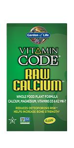 vitamin code raw calcium non gmo kosher