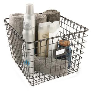 Attirant The Multi Functional Wire Storage Basket Can Be Used Anywhere Throughout  The Home