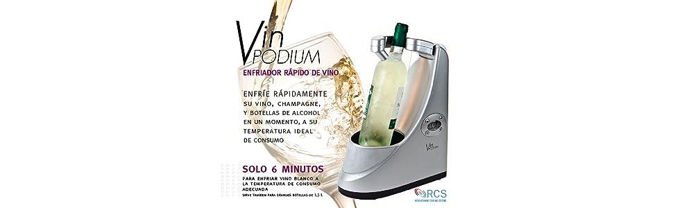 Compra Cooper Cooler Enfriador para Botellas de Vino y Cava o ...