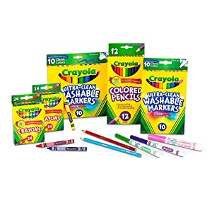 Crayola Back to School 2017 Set Grades K-2 - Package Contents