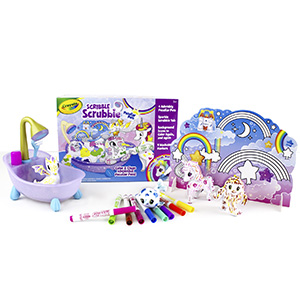 Crayola, Unicorn, Peculiar, Pets, Dragon, Yeti, Color, Wash, Scrub, Play, Toy, Design, Draw, kids
