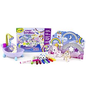 Crayola, Unicorn, Peculiar, Pets, Dragon, Yeti, Color, Wash, Scrub, Play, Toy, Design, Draw, kids