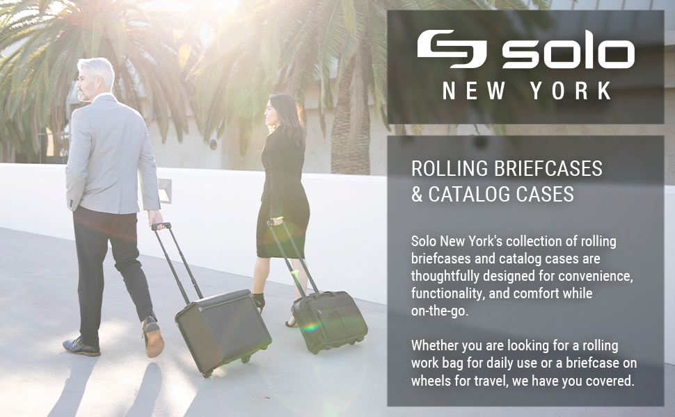 Rolling Briefcases and Catalog Cases