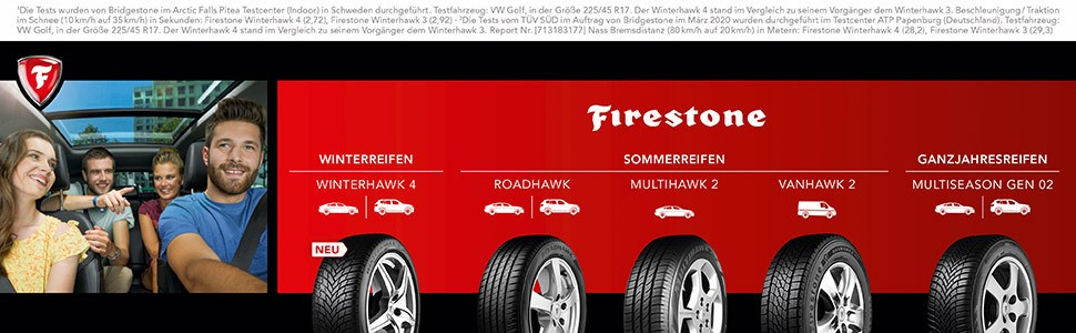 Firestone Winterhawk 4 215 70r16 100h E B 71db Winterreifen Auto