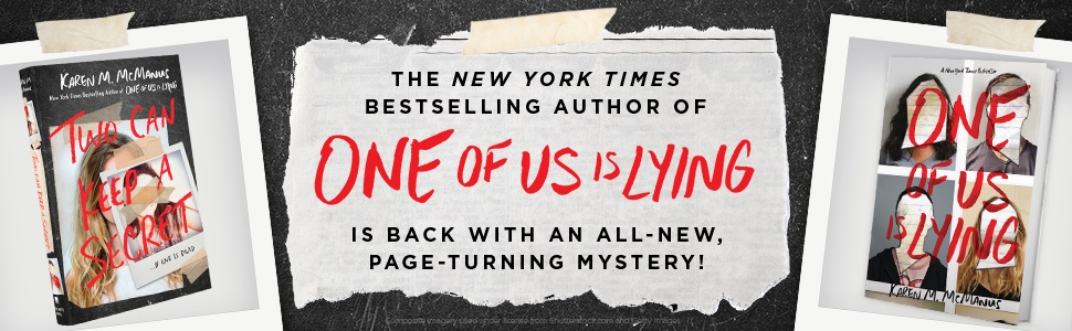 Two can keep a secret Karen McManus YA thriller mystery teen one of us is lying