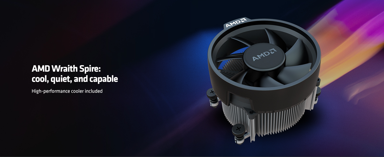 AMD RYZEN 5 3400G 4-Core, 8-Thread Unlocked, 3.7 GHz (4.2 GHz Max Boost) Desktop Processor 10