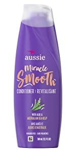 Miracle Smooth conditioner with aloe and Australian sea kelp Paraben free