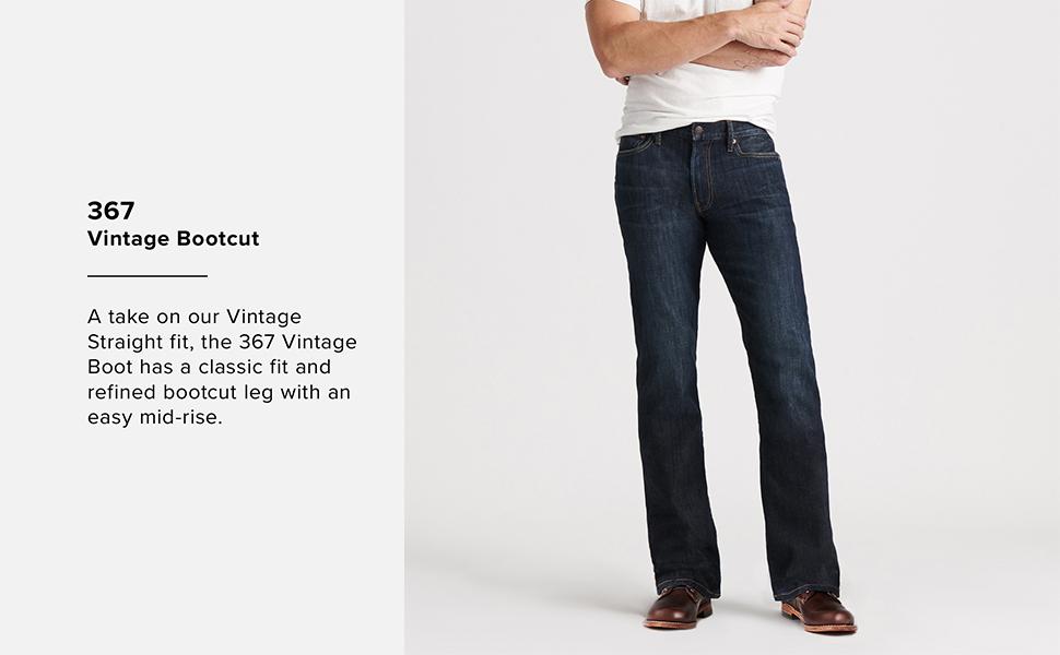367 Vintage Bootcut Jean, lucky brand jeans men, lucky jeans men, mens lucky brand jeans