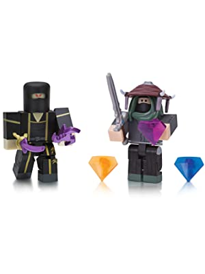 Adam Roblox Roblox Mad Games Adam And Ninja Assassin Yin Clan Master Two Figure Pack Amazon Sg Toys Games