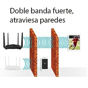 doble banda router, router atravesar paredes, ac10u doble banda
