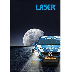 Laser 7265 Tools-Combination Spanner Set 6pc Metric-7265