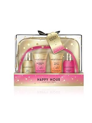 Baylis & Harding Cocktail Hour Ultimate Travel Bag Gift Set