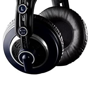 f8ba9cd8634 AKG K240 MKII Professional Semi-Open Over-Ear Studio Headphones ...