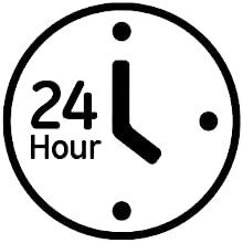 24 hour timer, program timer