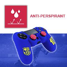 protezione in silicone per controller fcb fc barcellona playstation dualshock 4 ps4 slim pro