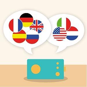 des histoires en langues étrangères