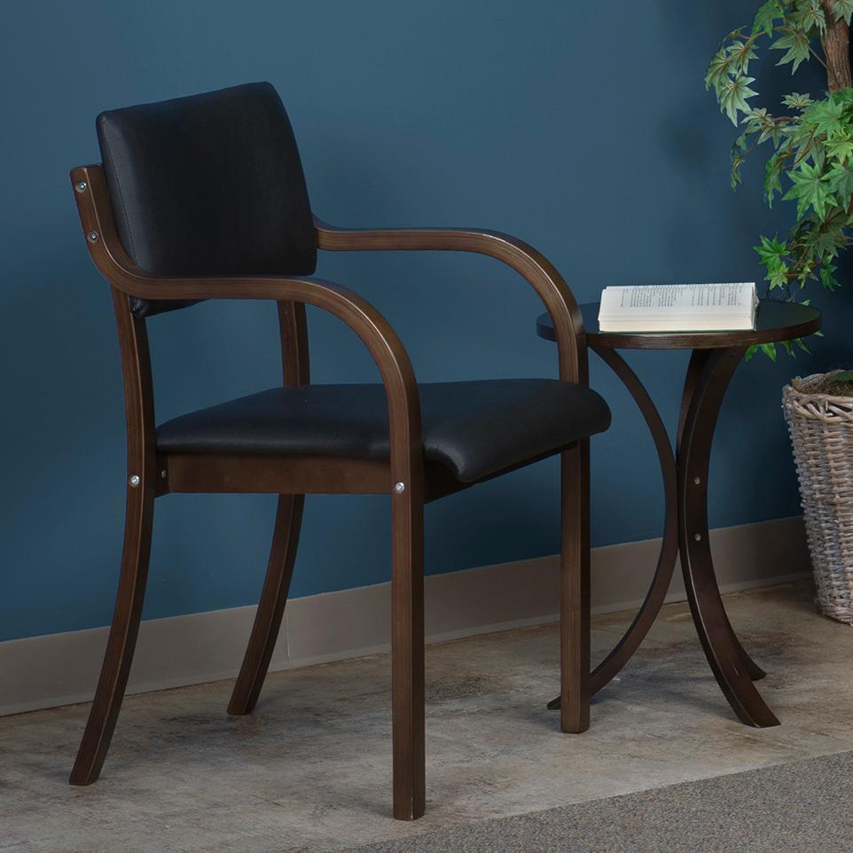 Amazon Com Niche Mia Reclining Bentwood Chair Mocha