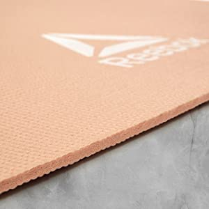 yoga mat floor exercise stretching nice colour strong carry compact clean grip no slip pilates