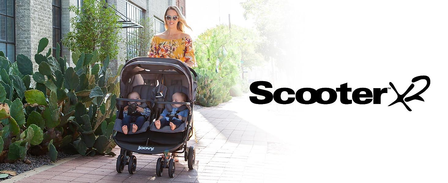 scooter x2 joovy double stroller