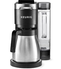 keurig k-duo coffee and carafe maker, drip coffee machine, single serve coffeemaker, keurig brewer