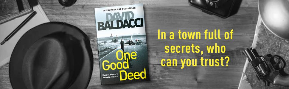 One Good Deed, David Baldacci,Thriller, Murder Mystery, Historical Crime