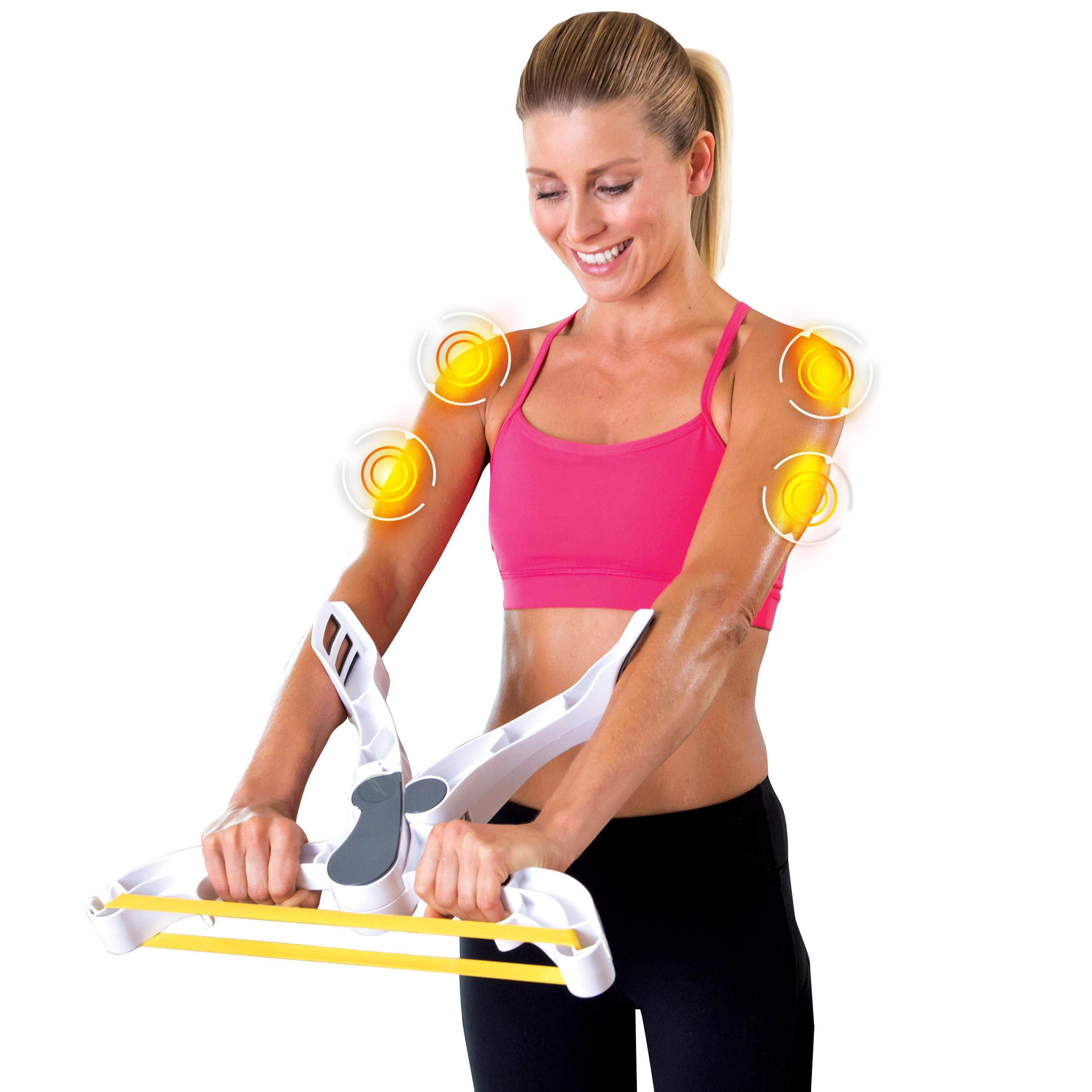 Exercise Bands Exercises Arms: Amazon.com : Wonder Arms Total Workout System Resistance